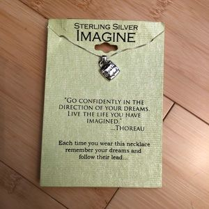 """Jewelry - """"Live the life you imagined"""" Necklace"""